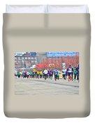 018 Shamrock Run Series Duvet Cover