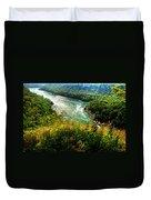 019 Niagara Gorge Trail Series  Duvet Cover