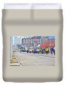 019 Shamrock Run Series Duvet Cover