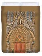 02 Church Doors Duvet Cover