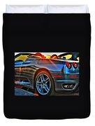 02 Ferrari Sunset Duvet Cover
