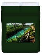 020 Niagara Gorge Trail Series  Duvet Cover