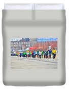 020 Shamrock Run Series Duvet Cover
