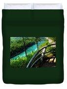 021 Niagara Gorge Trail Series  Duvet Cover