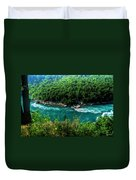 022 Niagara Gorge Trail Series  Duvet Cover