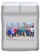 028 Shamrock Run Series Duvet Cover