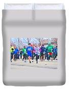 029 Shamrock Run Series Duvet Cover