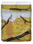 0291 Abstract Landscape Duvet Cover