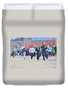 032 Shamrock Run Series Duvet Cover