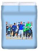033 Shamrock Run Series Duvet Cover