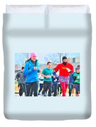 034 Shamrock Run Series Duvet Cover