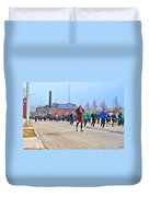 037 Shamrock Run Series Duvet Cover