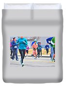 038 Shamrock Run Series Duvet Cover