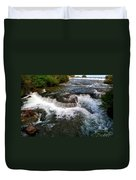 06 To The Three Sisters Island Duvet Cover