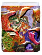 0627 Abstract Thought Duvet Cover