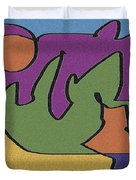 0638 Abstract Thought Duvet Cover