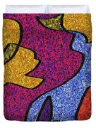 0665 Abstract Thought Duvet Cover