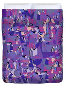 0667 Abstract Thought Duvet Cover