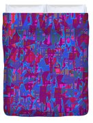 0671 Abstract Thought Duvet Cover