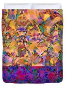 0672 Abstract Thought Duvet Cover