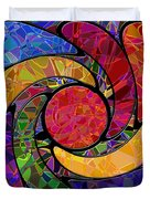 0677 Abstract Thought Duvet Cover