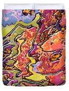 0693 Abstract Thought Duvet Cover