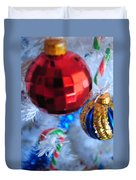 07 Holiday Photo Duvet Cover