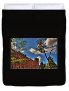 002 The 74th Regimental Armory In Buffalo New York Duvet Cover