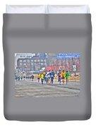 01 Shamrock Run Series Duvet Cover