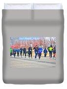 012 Shamrock Run Series Duvet Cover