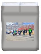 013 Shamrock Run Series Duvet Cover