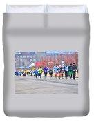 014 Shamrock Run Series Duvet Cover