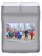 015 Shamrock Run Series Duvet Cover