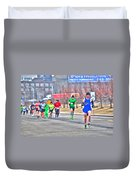 03 Shamrock Run Series Duvet Cover