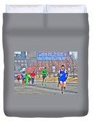 04 Shamrock Run Series Duvet Cover