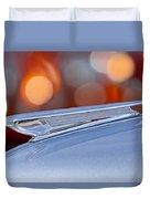 1938 Chevrolet Hood Ornament Duvet Cover