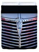 1939 Chevrolet Grille Duvet Cover