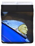 1948 Indian Chief Motorcycle Duvet Cover