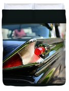 1958 Mercury Park Lane Tail Light Duvet Cover