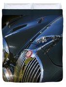 1961 Jaguar Mk II 3.8 Litre Automatic Duvet Cover