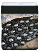 81mm Mortar Rounds Ready Stacked Ready Duvet Cover