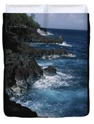 A Coastal View Of The Southeast Corner Duvet Cover