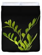A Coffee Plant Coffea Arabica Duvet Cover