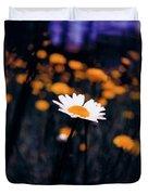 A Daisy Alone Duvet Cover