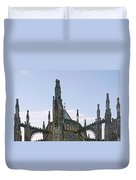 A Forest Of Spires - St Vitus Cathedral Prague Duvet Cover