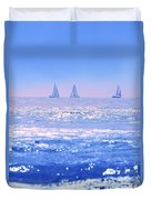 A Good Day For Sailing Duvet Cover