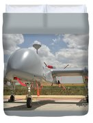A Heron Tp Unmanned Aerial Vehicle Duvet Cover