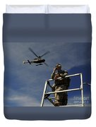 A Joint Terminal Attack Controller Duvet Cover