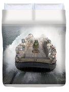 A Landing Craft Air Cushion Enters Duvet Cover
