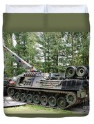 A Leopard 1a5 Mbt Of The Belgian Army Duvet Cover